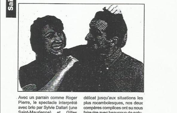Parution Presse «Les Concubins»